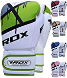 RDX Boxing Gloves for Training & Muay Thai - Maya Hide Leather Mitts