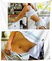 深田恭子 タペストリー おしゃれ壁掛け 多機能 寝室 カーテン 布ポスター 装飾布 人気 おしゃれ 新築祝い 152*130cm