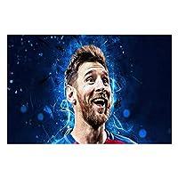 リオネル・メッシ Lionel Messi 500/1000 ピース ポスター 壁飾り 木製 丈夫 大人 パズル 減圧 木製の 積み木 耐久性 高級印刷 無毒 無臭 無害 難易度調整可能 大人用 子供用 キャラクター パズル 萌えグッズ 子供 初心者向け ギフト プレ 500/1000 PCS