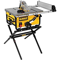 DEWALT DWE7480XA Portable Table Saw with Table Saw Stand review 2019