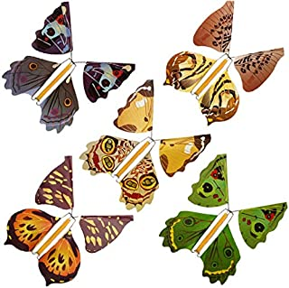 Best paper flying butterfly elastic band Reviews