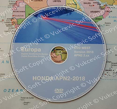 Honda Navigation DVD 2018 3.XX