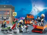 PLAYMOBIL – Adventskalender Feuerwehreinsatz mit Kartenspiel - 2