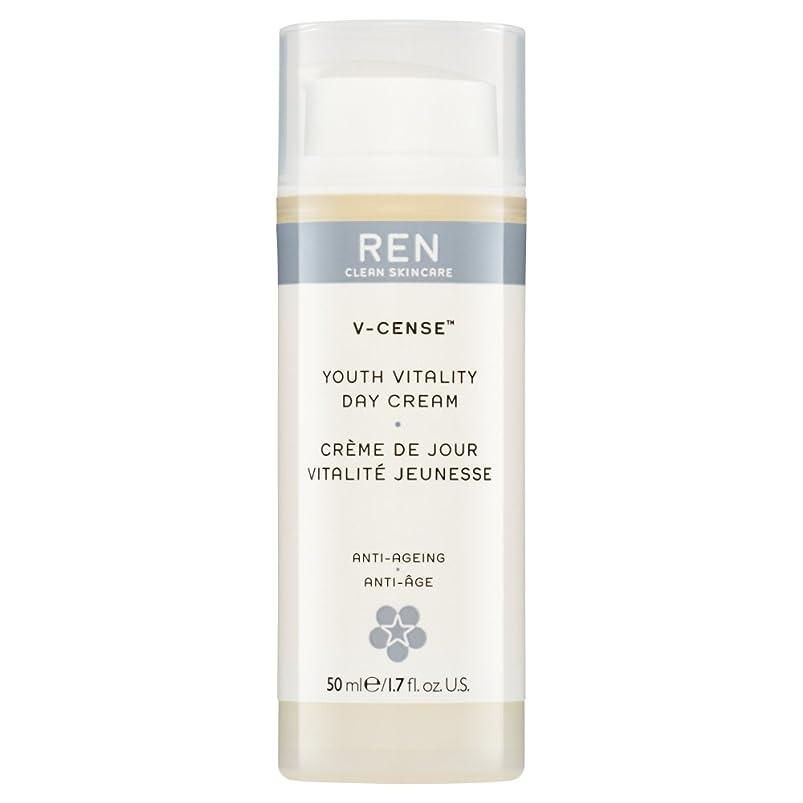 インデックスまたは別にRenのV-焼香する若者の活力のデイクリーム、50ミリリットル (REN) - REN V-Cense Youth Vitality Day Cream, 50ml [並行輸入品]