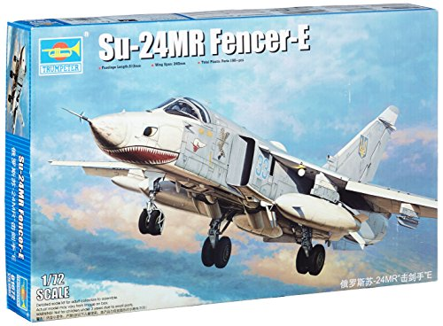 Trumpeter 01672 - Modellbausatz Su-24MR Fencer-E
