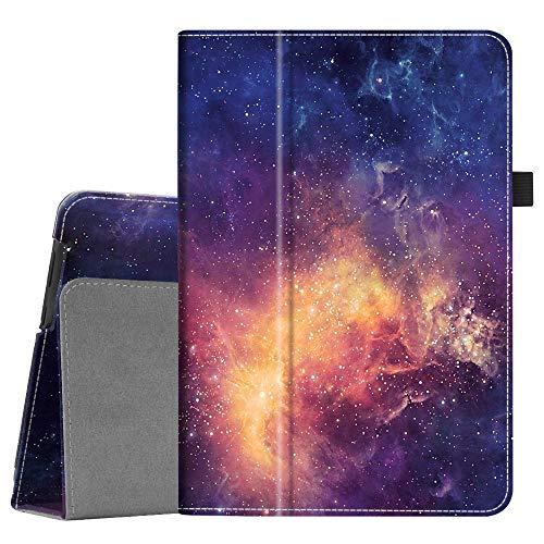 FINTIE Custodia Cover per Huawei MediaPad T5 10 - Slim Fit Folio Protettiva Custodia Cover in Pelle PU per Huawei Mediapad T5 10.1 Pollici 2018, Galaxy