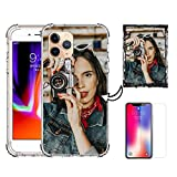 Z.Y Custom iPhone 12 Pro Max Case for Women Girls, Anime iPhone 11 Case Customize, Custom Phone Cases for iPhone 8 Plus (Compatible with All Apple Case)
