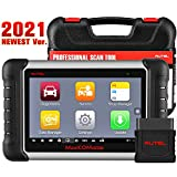 Autel MaxiCOM MK808BT Automotive Diagnostic Scan Tool, 2021 Newest Upgraded Ver. of MK808 MX808, 25 Special Functions, All Systems Diagnosis, ABS Bleed, Oil Reset, EPB, SAS, BMS, DPF, Injector Coding