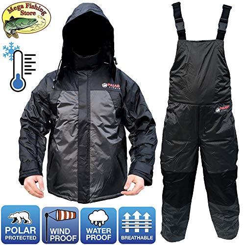 Paladin Polar Thermoanzug - Winter Thermo Anzug 2-Teilig/Outdoor Angelanzug - Jacke + Hose - Gr. M bis XXL (XXL)