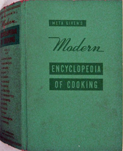 Meta Given's / Givens Modern Encyclopedia Of Cooking, Vol.1