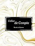 Livre de Compte Recette et Dépense: Carnet de Compte pour Micro Entrepreneur,Profession Libérale, Auto entrepreneur/ Registre des recettes format A4