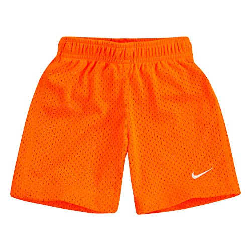NIKE Children's Apparel Boys' Toddler Mesh Shorts, Hyper Crimson, 2T