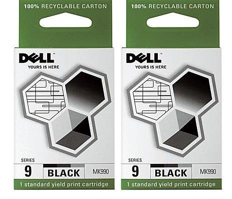 Dell 9 Black Ink - 2 Pack