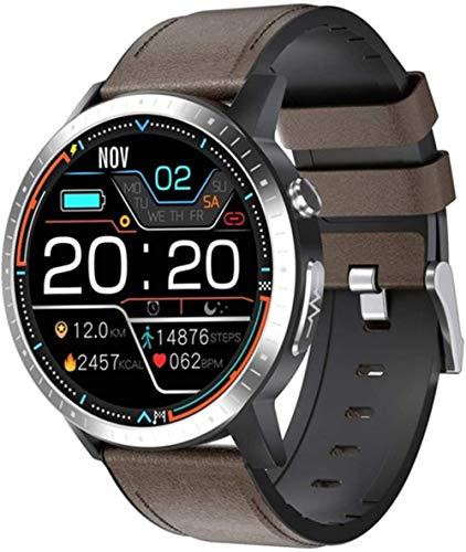 Reloj inteligente impermeable, rastreador de fitness, contacto, música, llamada, mensaje, pulsera B