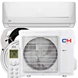 COOPER AND HUNTER 9,000 BTU, 115V, 19 SEER Ductless Mini Split AC/Heating System MIA Series Pre-Charged...
