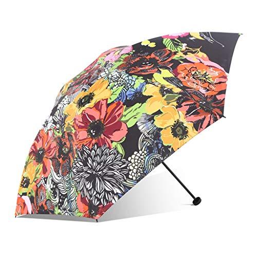 LWH Klappschirm,Regen Oder Sonnenschein,Windwiderstand,automatisches Öffnen Und Schließen,Herrengeschäftsschirm,abgerundete Ecke/Sonnenschirm