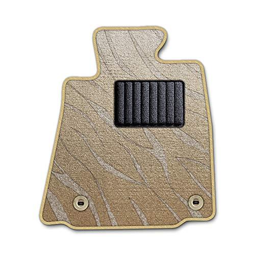 DAD ギャルソン D.A.D エグゼクティブ フロアマット SUZUKI (スズキ) SWIFT スイフト 型式: ZC/ZD72S 1台分 GARSON プレステージデザインベージュ/オーバーロック(ふちどり)カラー : タンゴールド/刺繍 : 無し/