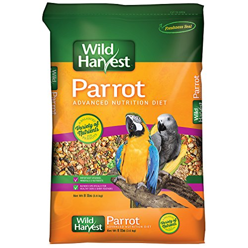 Wild Harvest Advanced Nutrition Parrot 8 Pound Bag