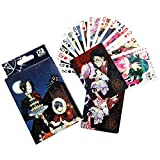 Bowinr Japanese Anime Playing Cards, Standard Poker Size Deck of Cards for Blackjack, Euchre, Canasta, Pinochle Card Game( Black Butler)