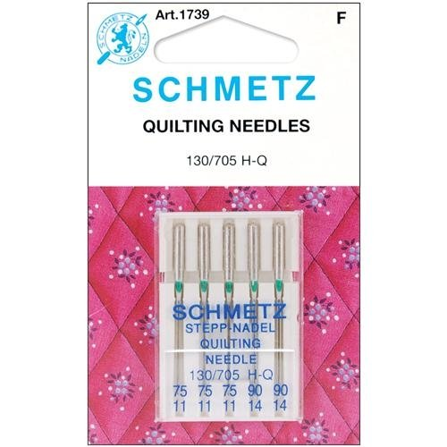 Euro-Notions Quilt Machine Needles-3-75, 2-90 5/Pkg
