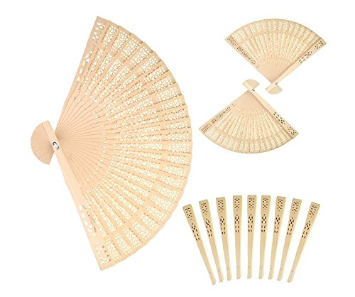 Forsun Sandalwood Fan (Set of 50 pcs)