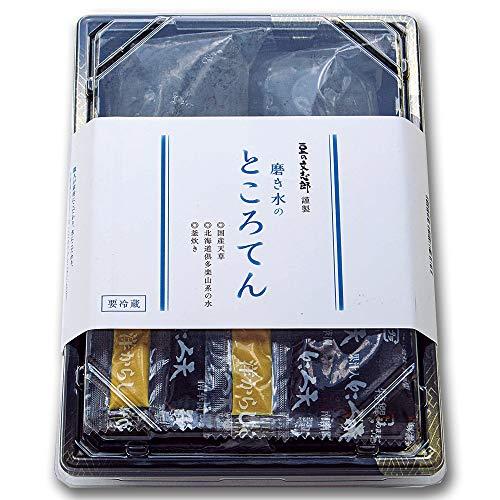 文志郎 磨き水の ところてん(突き 林檎酢醤油からし付き)150g×2
