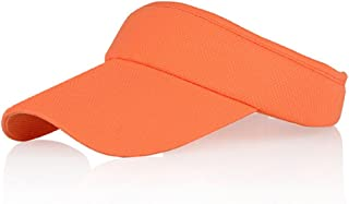 Multiple Colors Sun Visors for Women and Girls, Long Brim Thicker Sweatband Adjustable..