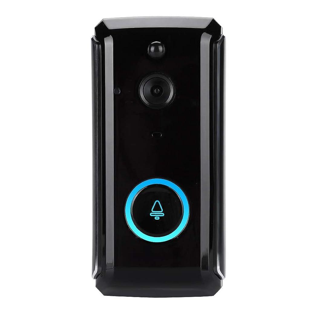 公平なクリア上流のワイヤレスチャイム テレビドアベル 720 P HDホームセキュリティドアホン PIRの動き検出、アンチタンパーアラーム、双方向音声インターホン、iOSとAndroidリモートコントロール