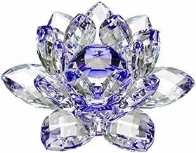 Amlong Crystal Flor de lótus de cristal, 7,6 cm