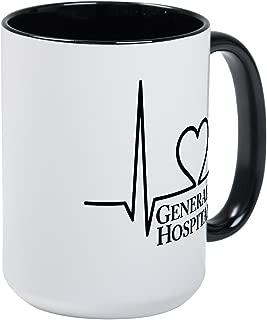 CafePress I Love General Hospital Large Mug Coffee Mug, Large 15 oz. White Coffee Cup