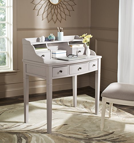 Safavieh American Homes Collection Landon Quartz Grey Writing Desk