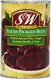 S&W Pickled Sliced Beets, 15-Ounce (Pack of 12)