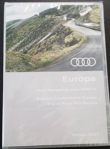 original Kartenmaterial Audi RNS-E Europa 2017-8P0060884CM - 2017