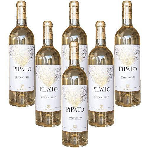 Piapato Vino Blanco Italiano Cinque Terre DOC Rosadimaggio (6 botellas 75 cl.)