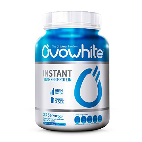 Ovowhite Instant 100% Egg Protein - 1 kg Chocolate-Brownie