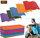 STKYGOOD Camping Foam Pad Waterproof XPE Foam Seat For Picnic, Hiking, Backpacking, Mountaineering, Trekking - 5Pcs