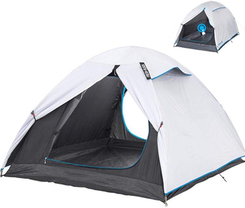 AWSCDCS Outdoor Wurfzelt - Zelt Outdoor Camping Traditionell gebaut für 2 Personen, Wind- und regensicherer Sonnenschutz