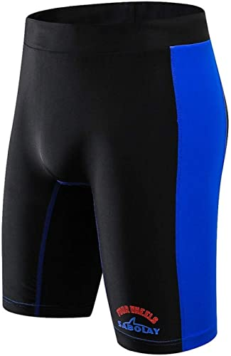 HNPYY Hommes Quick Dry Fifth Elastic Swimming Tcourirks plage Diving Pants Bunch Sunscreen Surfing plage Swim courtes