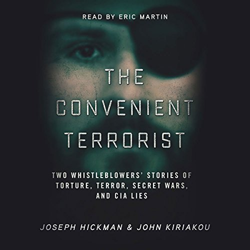 The Convenient Terrorist audiobook cover art