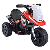 COSTWAY Motorbike Kids Ride On Motorcycle 6V Electric Battery Scooter Car Bike Toy Boys (Red)