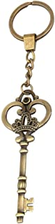 Luxurious Antique Bronze Key Chain Key Chain Tags Key Ring Ring Jewelry Making Charm Bronze Keyring
