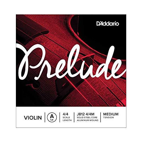 Corda singola LA D Addario Prelude per violino, scala 4 4, tensione media