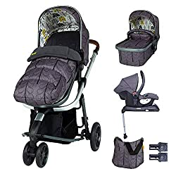 SUITABLE FROM BIRTH – No need to buy separate carrycot, pram or duo-directional pushchair – this Cosatto Giggle 3 has it all. Swap the from-birth carrycot to reversible pushchair when they can sit up. ALL ROUND COMFORT – The luxury carrycot has a sup...