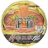 マルちゃん正麺 カップ 辛ニボ 122g
