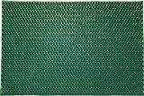 oKu-Tex Felpudo, Verde, 40 x 60 x 1,2 cm