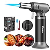 iRainy Butane Torch, Kitchen Blow Torch Refillable Cooking Torch...