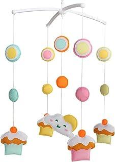 Mobile Berceau Mobile Bébé pour bébé en pour décor de pépinière Cadeau de Noël Petit gâteau