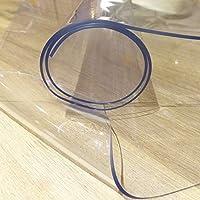 Bohrfux - Lámina de Mesa de 80 cm x 200 cm + Mantel de tolerancia de 2 mm, lámina Protectora de Mesa, lámina Transparente de PVC
