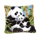 Baoblaze Knüpfen Kissen Knüpfpackung für Kinder und Erwachsene zum Selber Knüpfen Kissen...