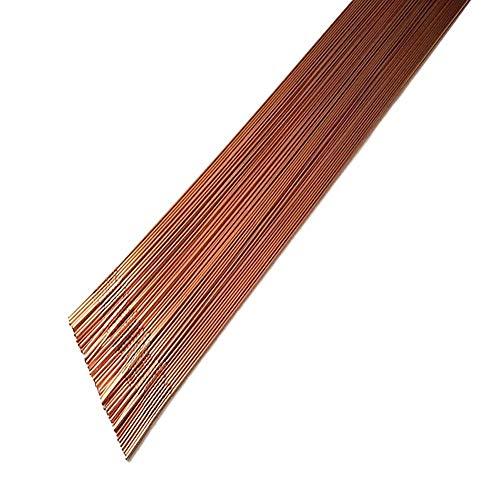KISWEL 2LBS ER70S-6 Mild Steel TIG Welding Filler Rods 0.045' 1/16' 3/32' 1/8' x 36' 2LBS(1/16' - 2 LBS)